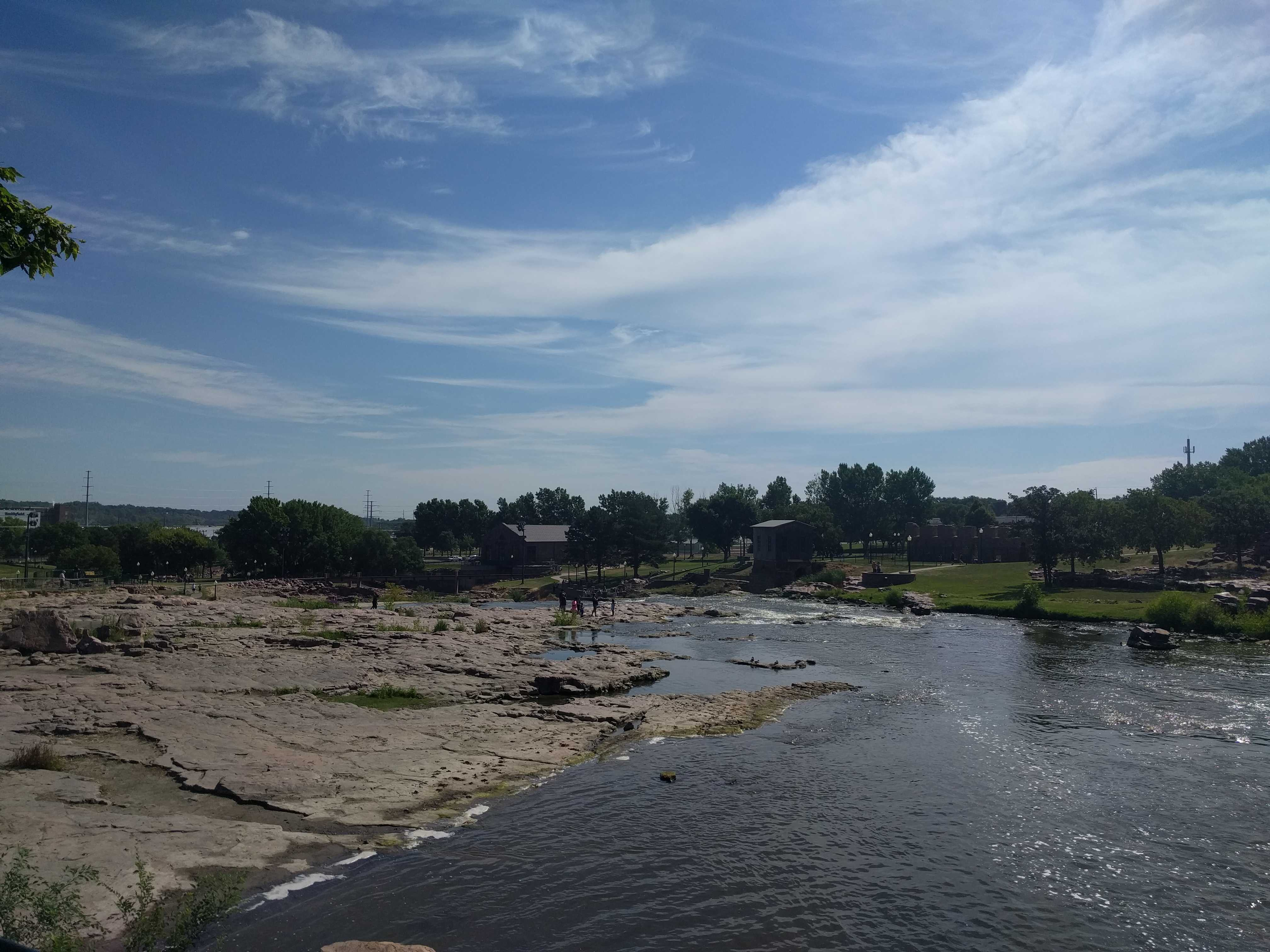 Sioux Falls and a stop at the Missouri River OurTravels